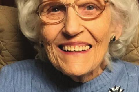 Service Friday for Betty Bolin