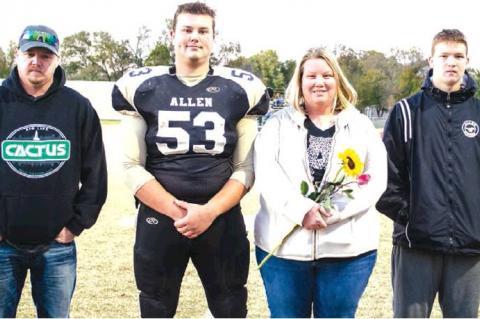 Band, Cheer & Football Seniors Honored