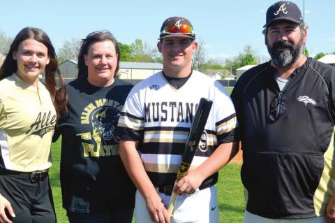 Senior Baseball Players & families are honored