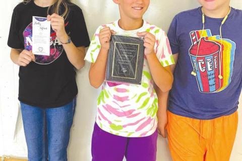 Hughes County Fair Spelling Bee Winners