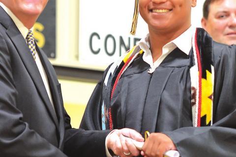 Superintendent Hiatt & L.T. Matteri