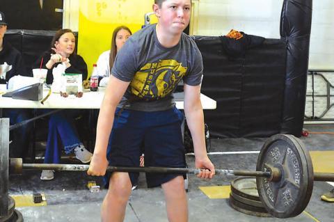 Allen Powerlifting Meet