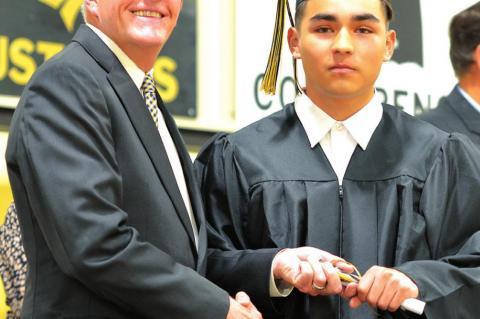 Superintendent Hiatt & Rudy Medina