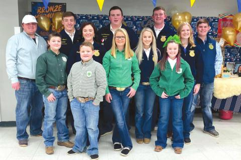 Allen 4-H & FFA in Pontotoc County Junior Livestock Show