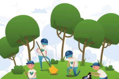 Park Cleanup Day Set