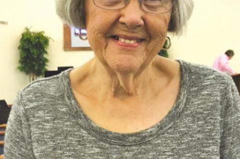 Joy Anderson Selected Nutrition Site Citizen of the Week