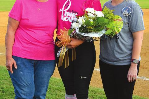 Allen Softball Honors Senior
