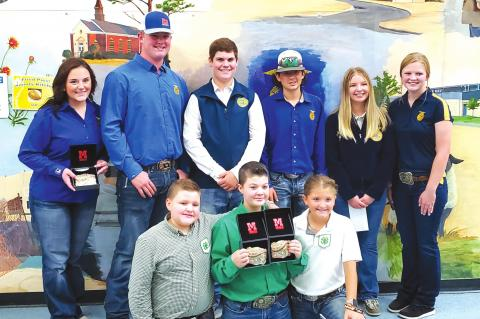 Pontotoc County Fair Placings for Allen 4-H and FFA