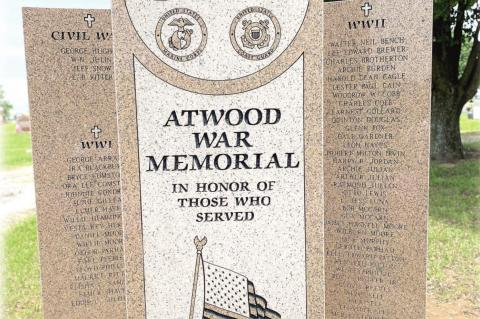 Atwood Memorial Service