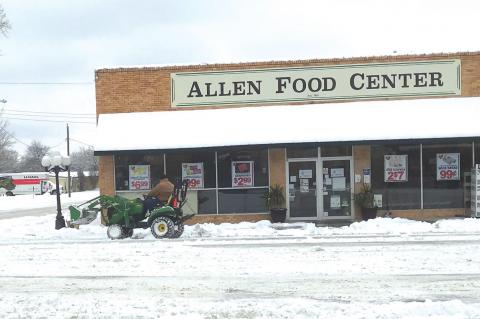 It's as Cold As Ice; But Allen Survives