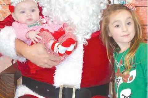 We are sure these 2 sweet girls will have a very Merry Christmas