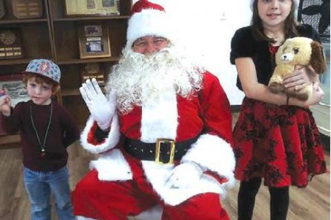 Santa Came to the Atwood Christmas Party