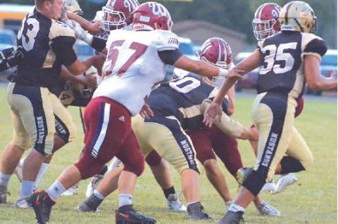 Mustangs Roughed Up at Home