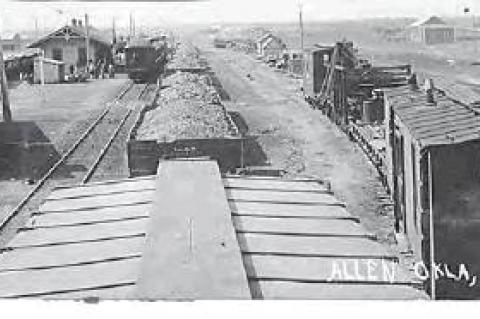 History of Trains in Allen