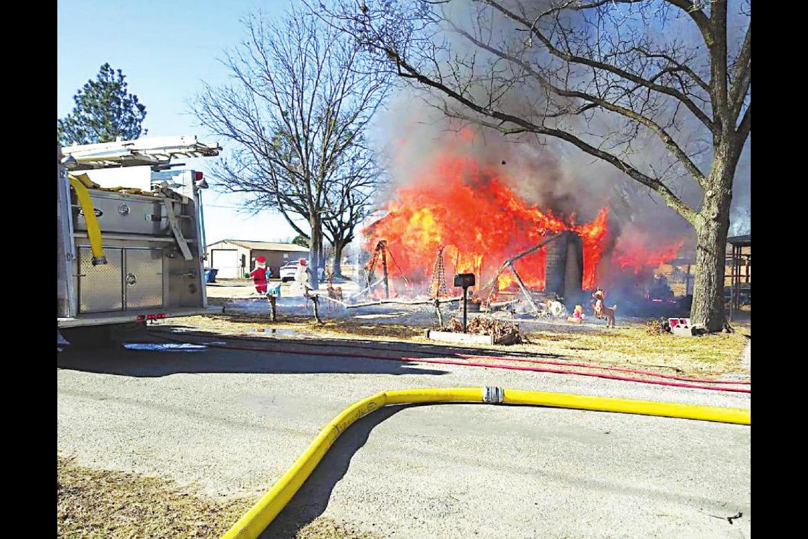 House a total loss after Christmas Day fire