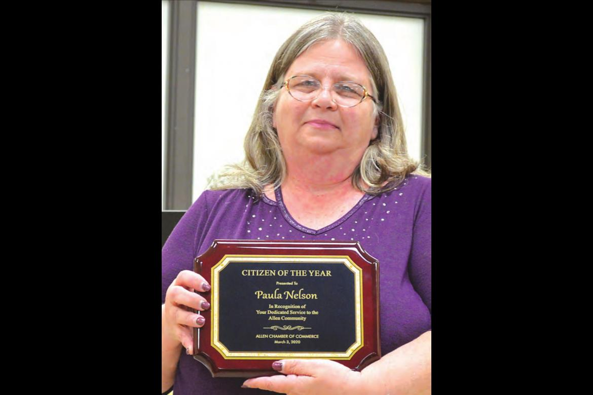 Paula Nelson Citizen of the Year