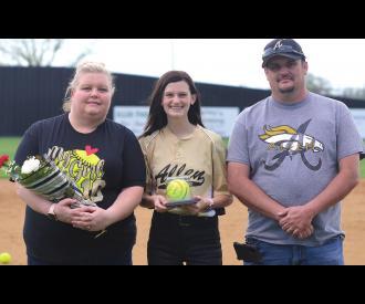 Allen Softball Seniors Honored