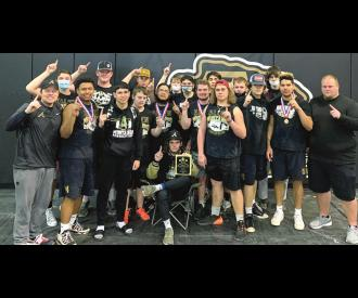 Allen Powerlifters Qualify for State!